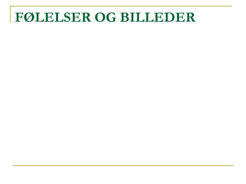 FØLELSER OG BILLEDER