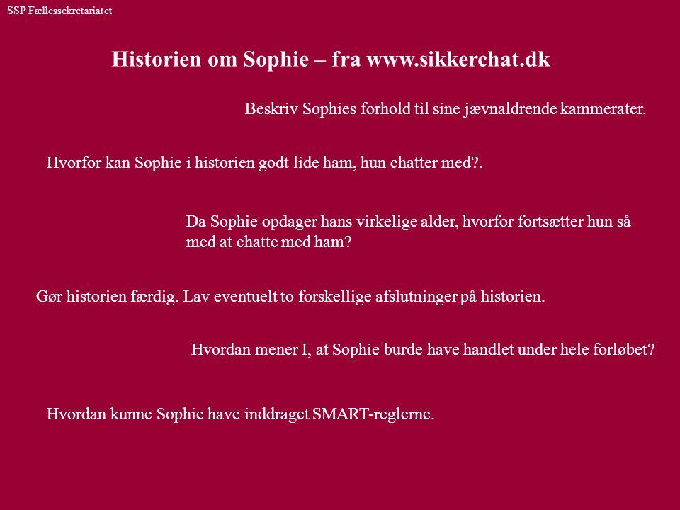 Historien om Sophie – fra www.sikkerchat.dk