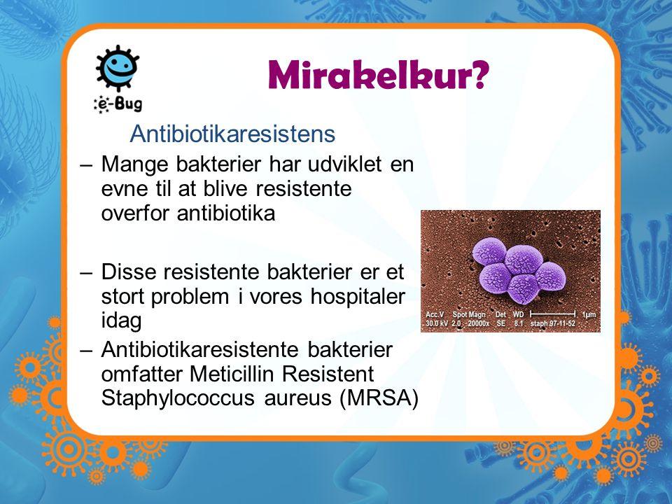 Antibiotikaresistens