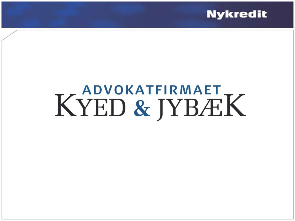 FREDERIKSBERGGADE 2, 3 1459 KØBENHAVN K TEL. 33 145 145 www.kjlaw.dk