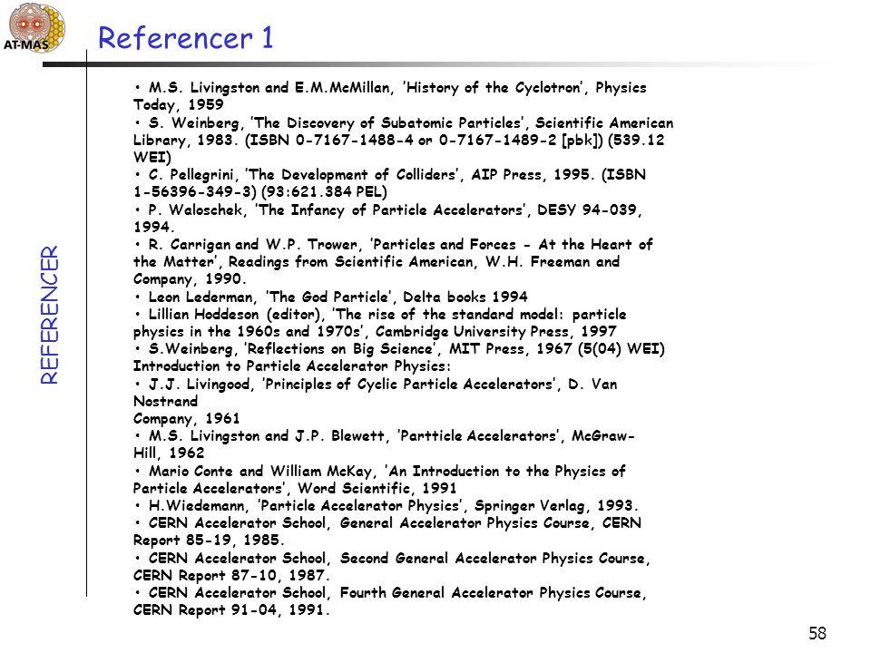 Referencer 1 REFERENCER