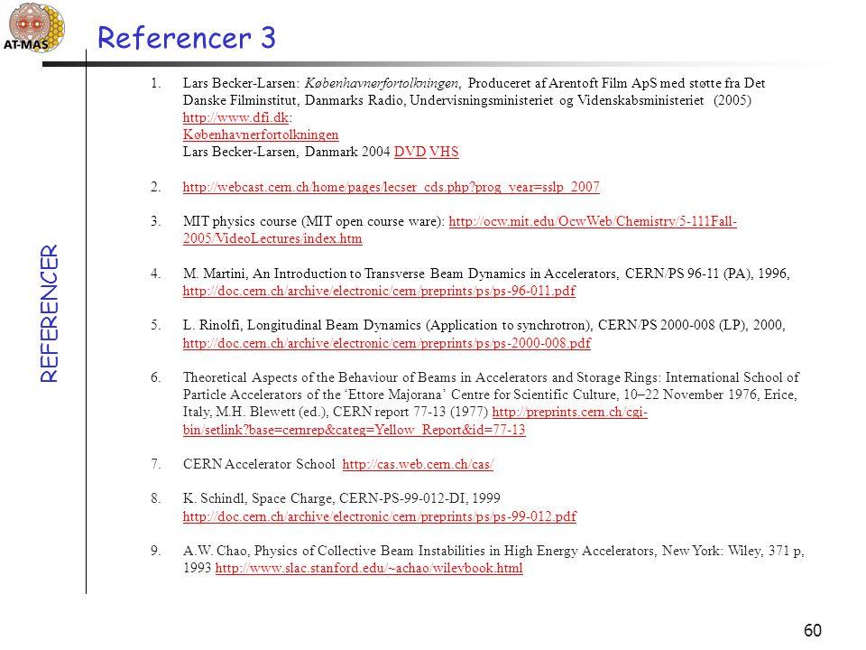 Referencer 3 REFERENCER