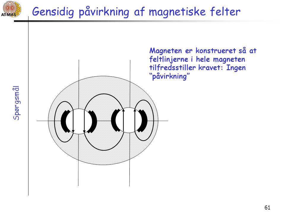 Gensidig påvirkning af magnetiske felter