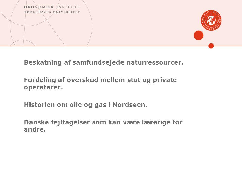 Beskatning af samfundsejede naturressourcer.