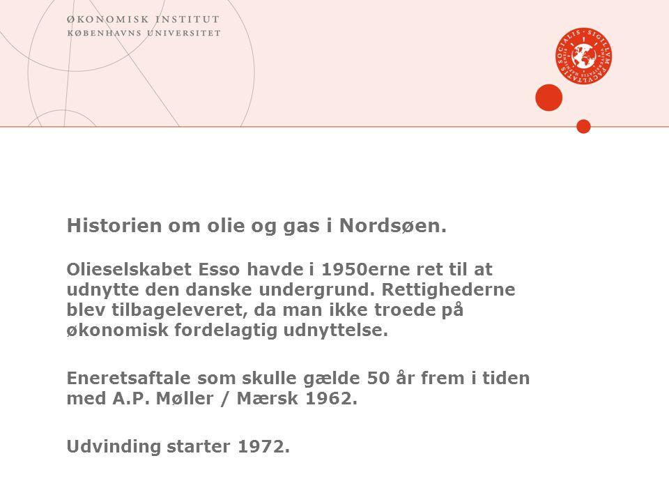 Historien om olie og gas i Nordsøen.