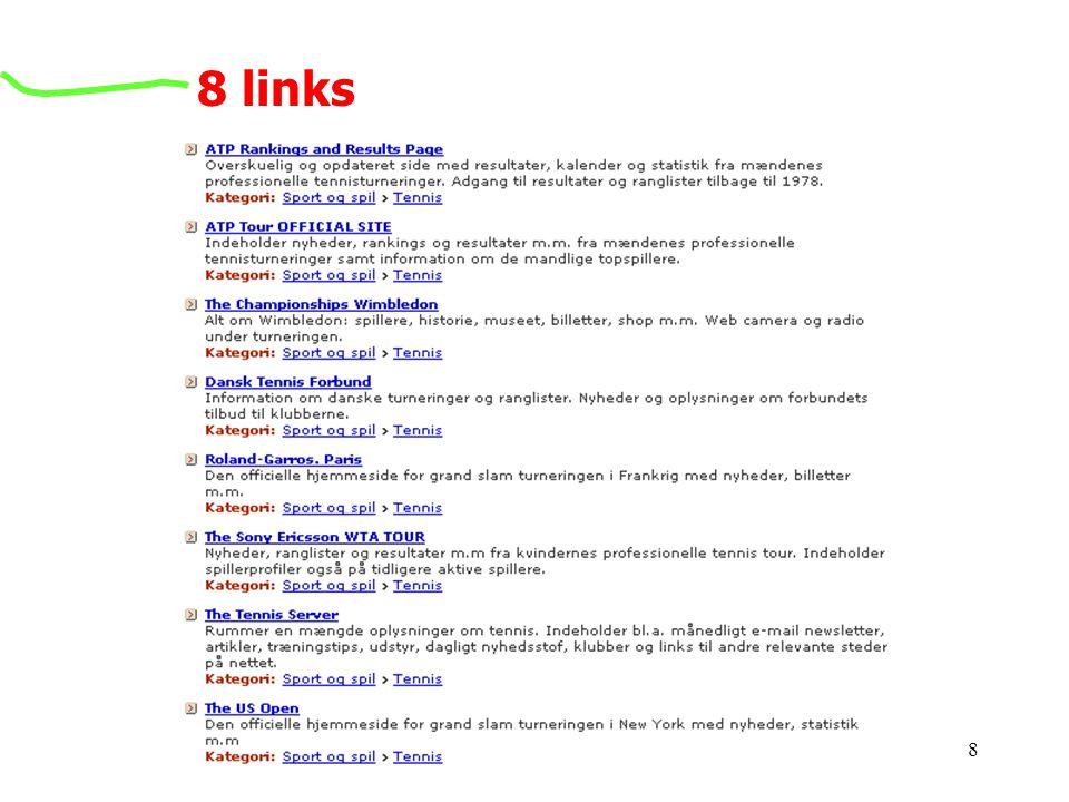 8 links