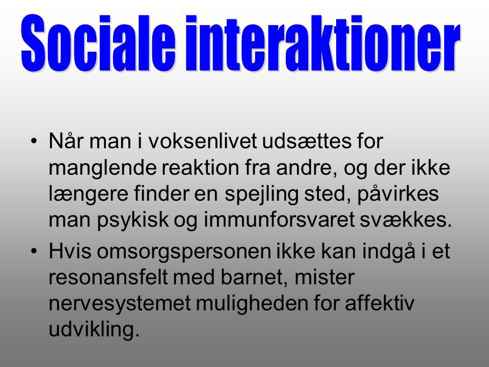 Sociale interaktioner