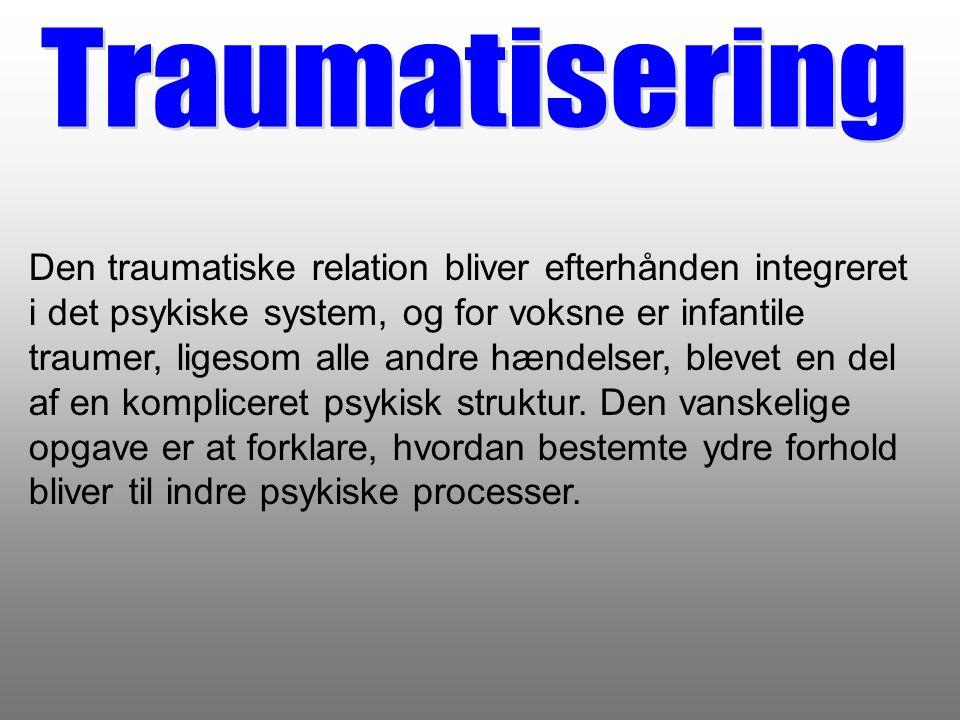 Traumatisering