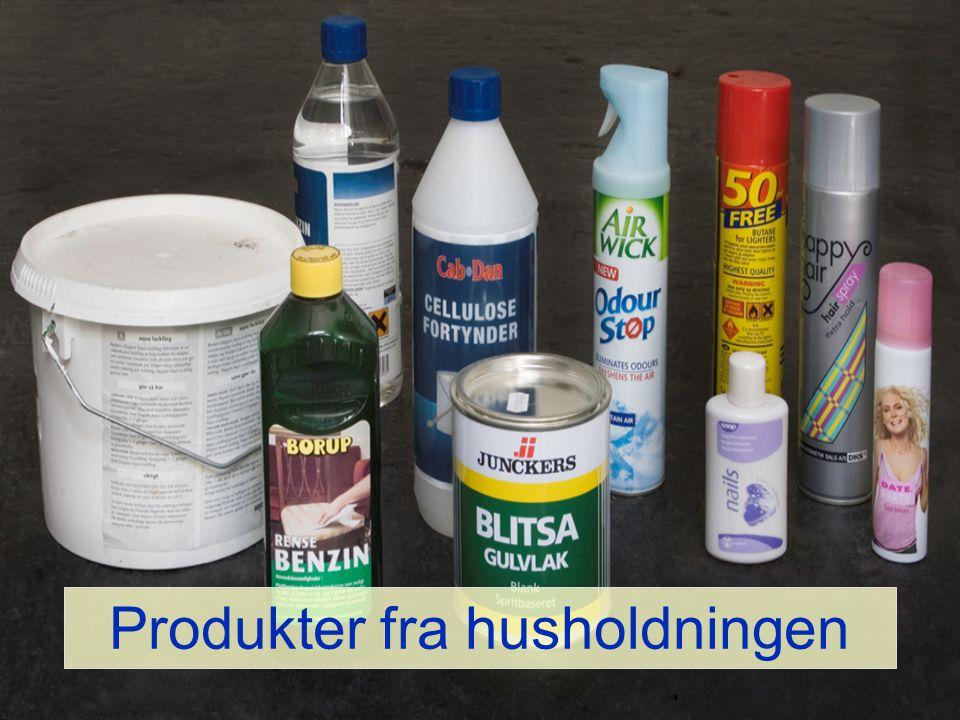 Produkter fra husholdningen