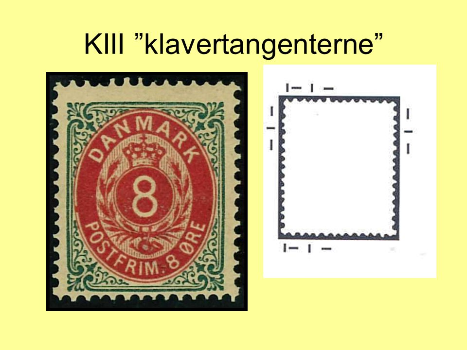 KIII klavertangenterne