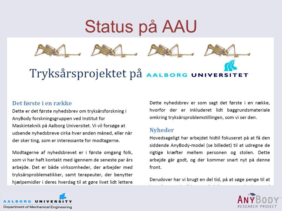 Status på AAU