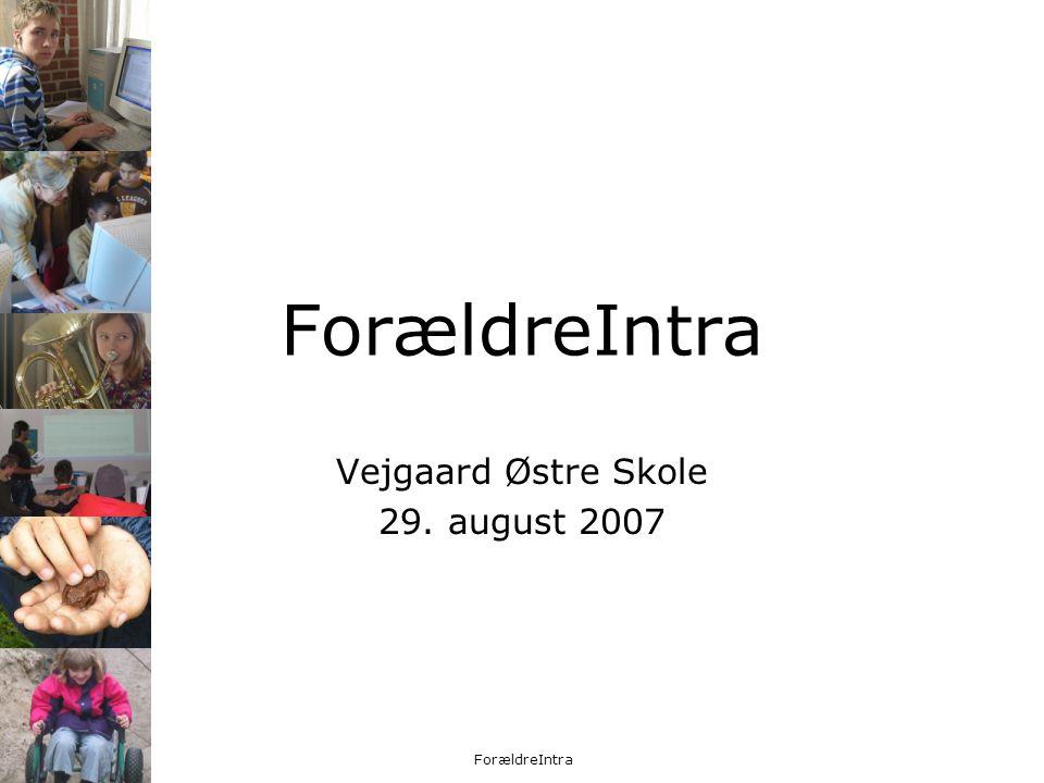 Vejgaard Østre Skole 29. august 2007