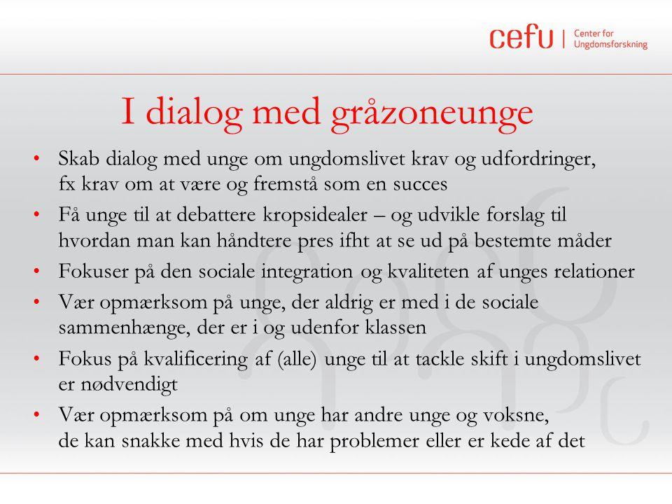 I dialog med gråzoneunge