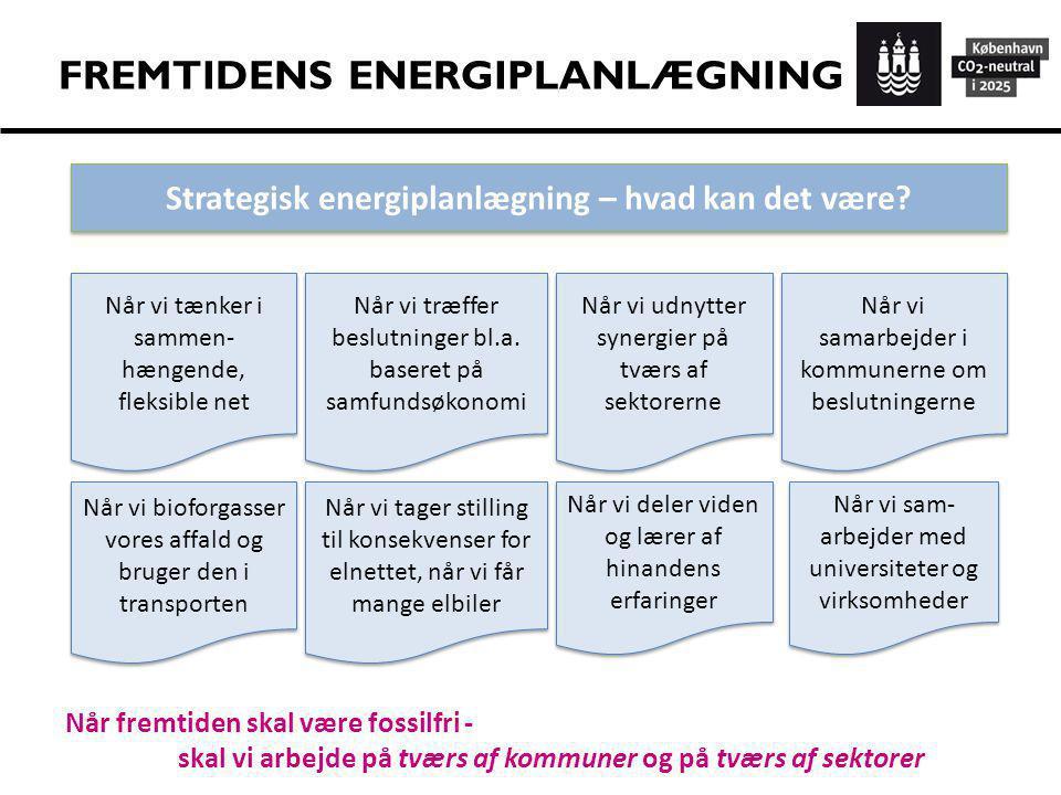 FREMTIDENS ENERGIPLANLÆGNING
