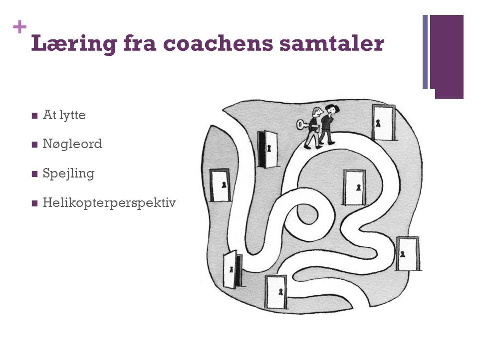 Læring fra coachens samtaler