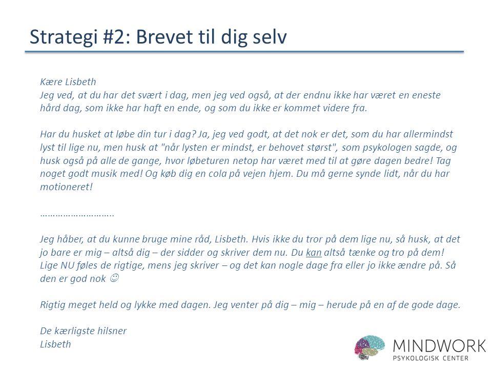Strategi #2: Brevet til dig selv
