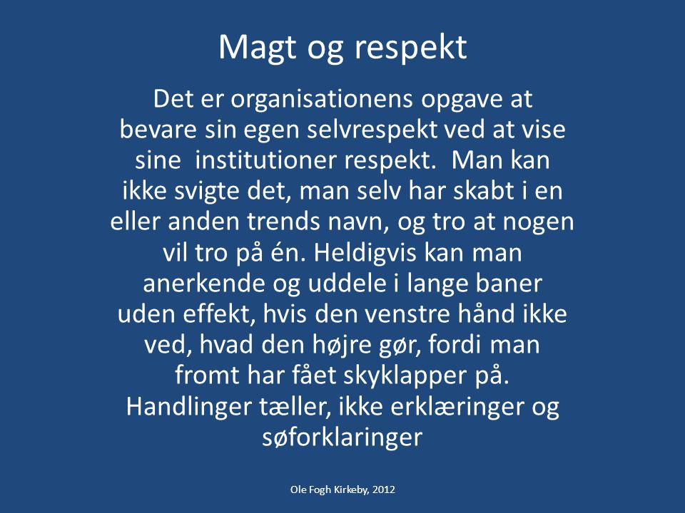 Magt og respekt