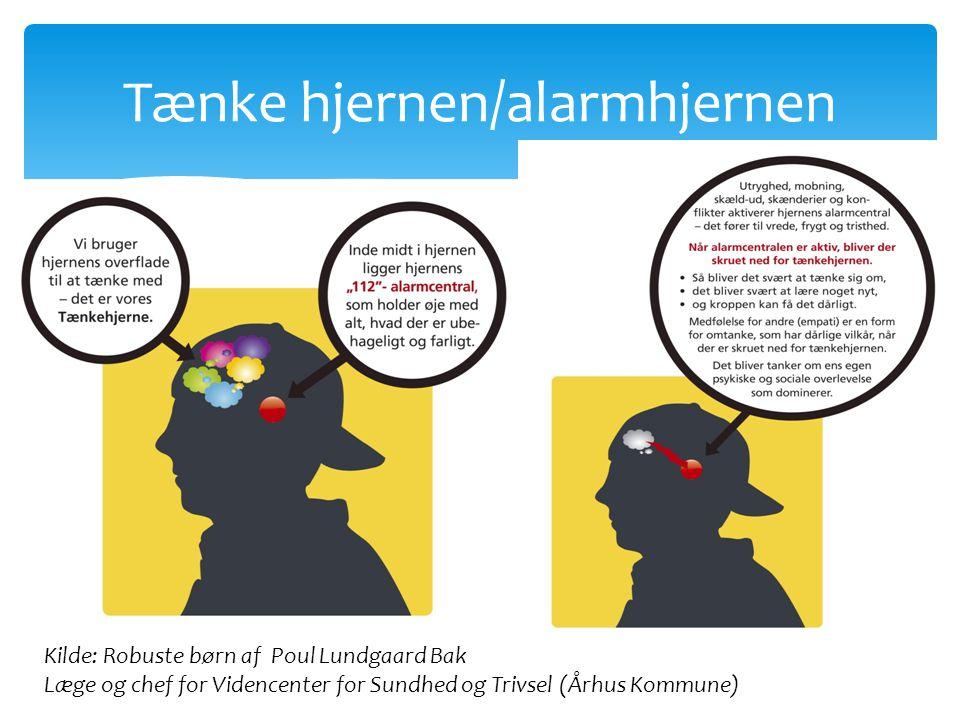 Tænke hjernen/alarmhjernen