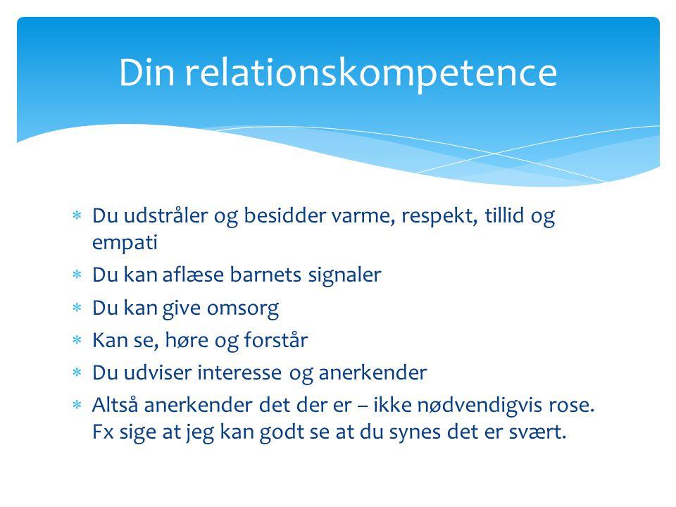 Din relationskompetence