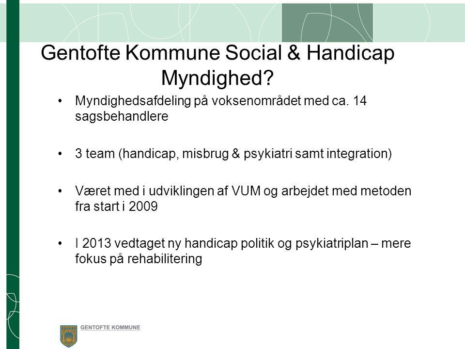 Gentofte Kommune Social & Handicap Myndighed