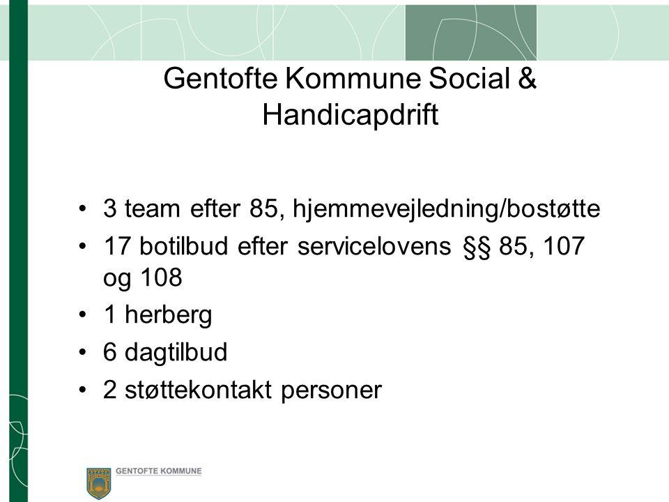 Gentofte Kommune Social & Handicapdrift