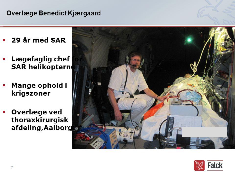 Overlæge Benedict Kjærgaard