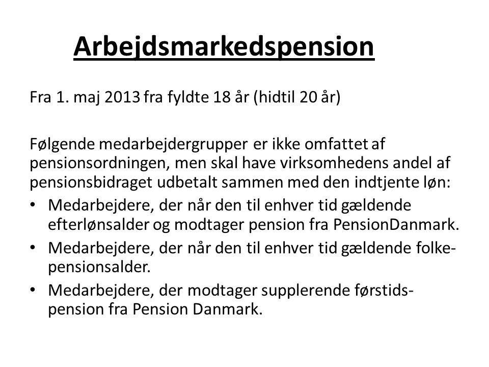 Arbejdsmarkedspension