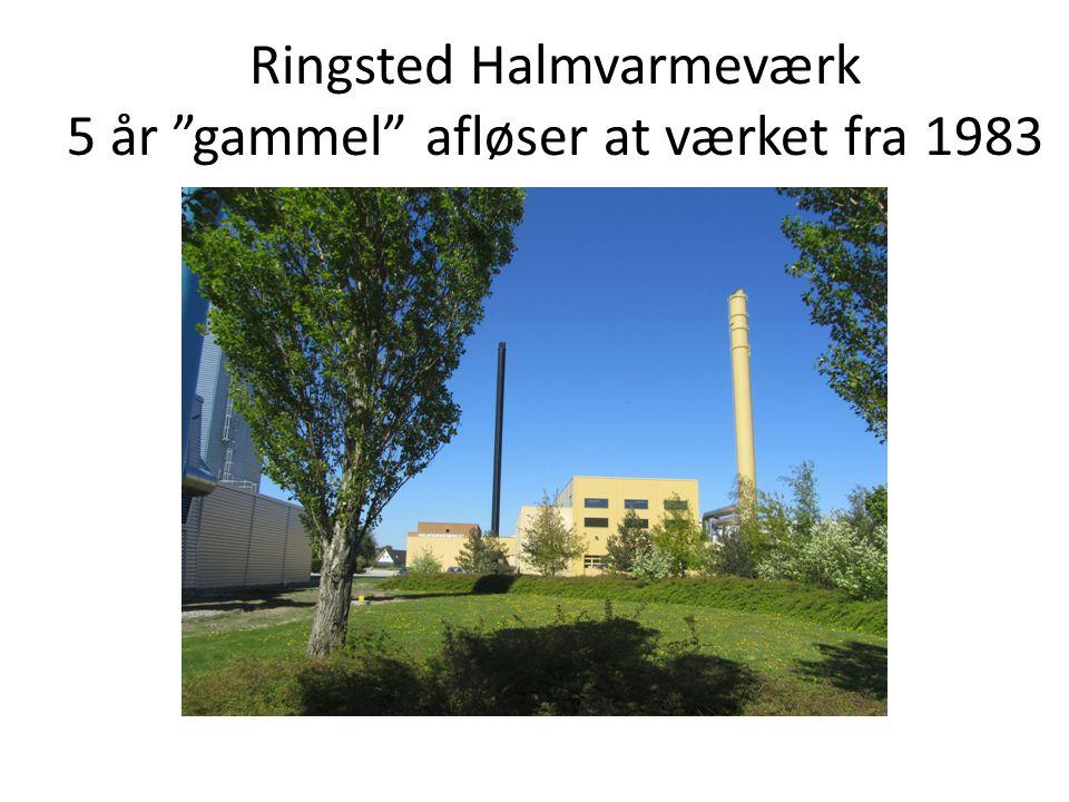 Ringsted Halmvarmeværk 5 år gammel afløser at værket fra 1983