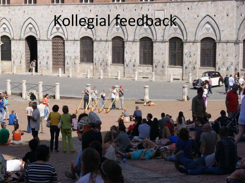 Kollegial feedback