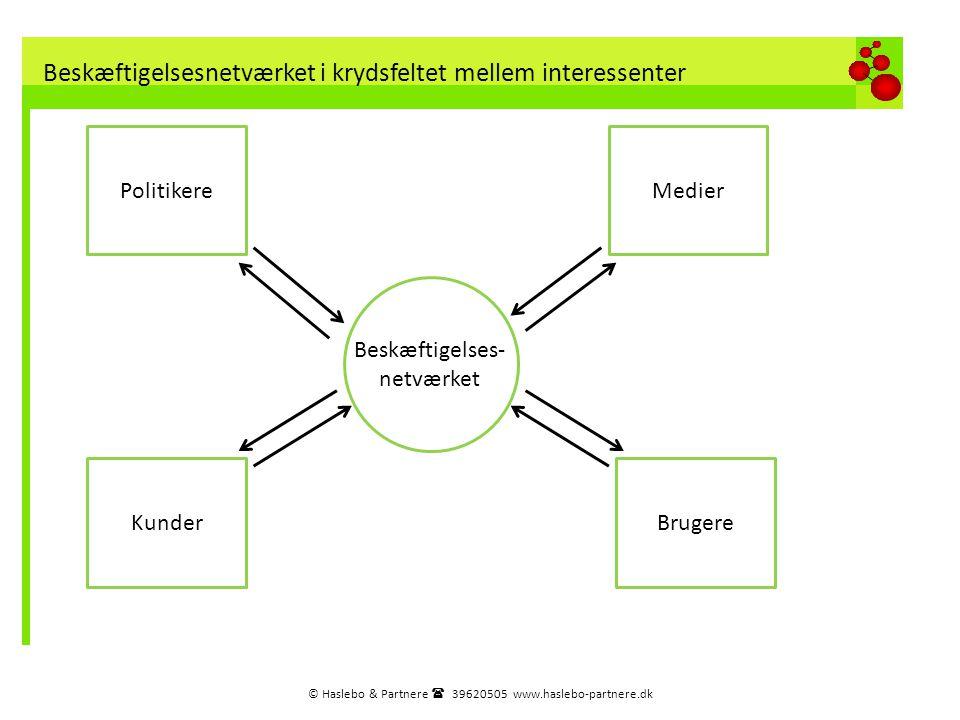 Beskæftigelsesnetværket i krydsfeltet mellem interessenter