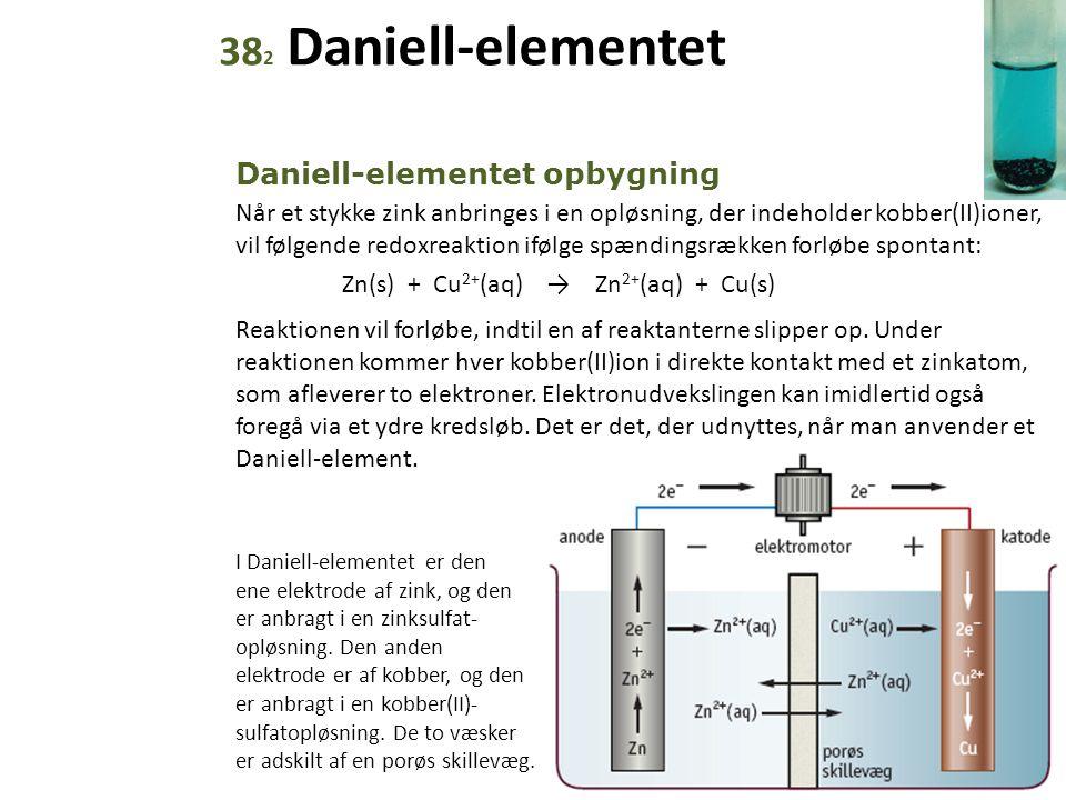 382 Daniell-elementet Daniell-elementet opbygning
