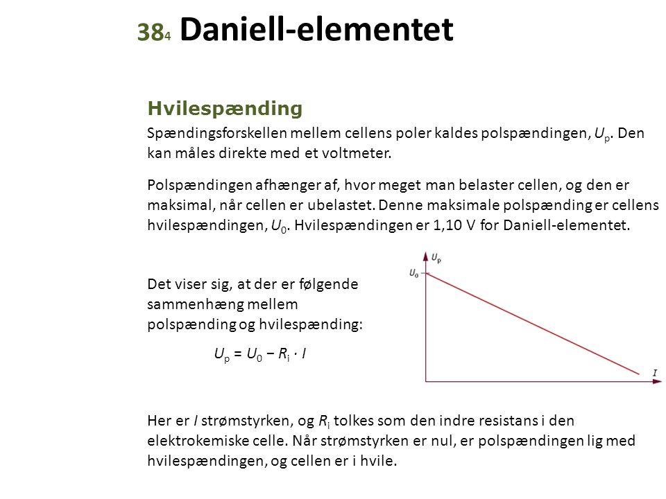 384 Daniell-elementet Hvilespænding