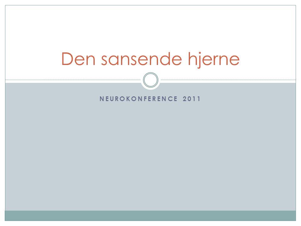 Den sansende hjerne Neurokonference 2011