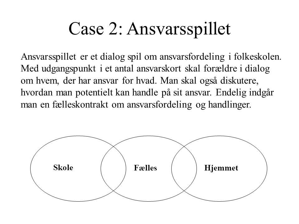 Case 2: Ansvarsspillet