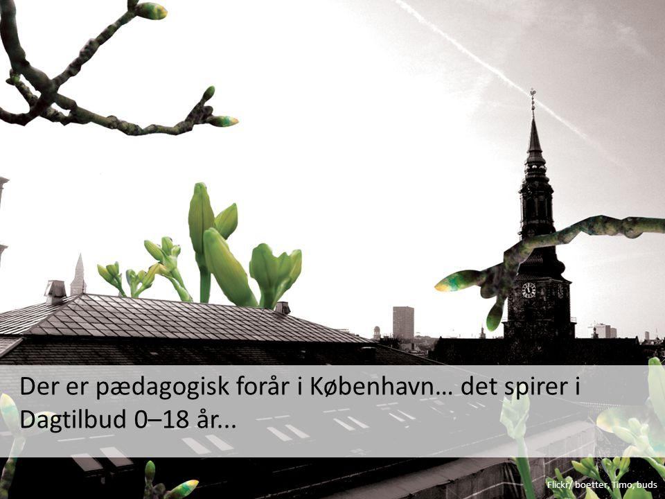 Der er pædagogisk forår i København… det spirer i Dagtilbud 0–18 år...