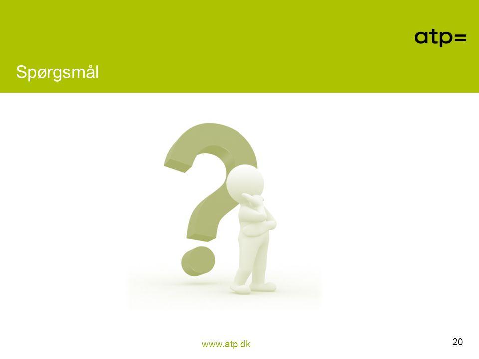 Spørgsmål Spørgsmål til deltagerne: