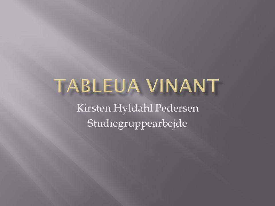 Kirsten Hyldahl Pedersen Studiegruppearbejde