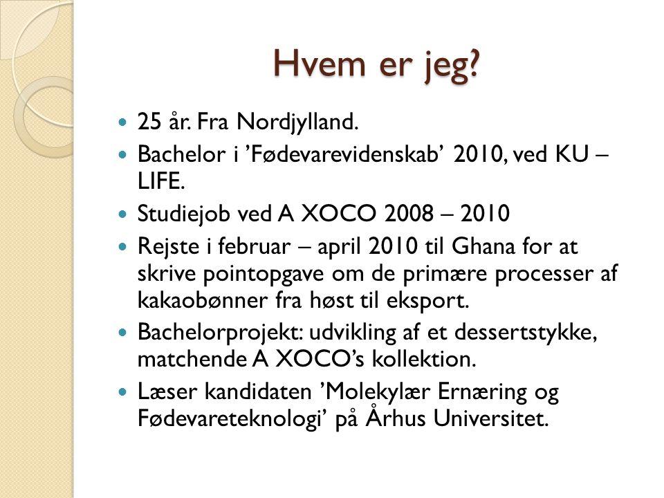 Hvem er jeg 25 år. Fra Nordjylland.