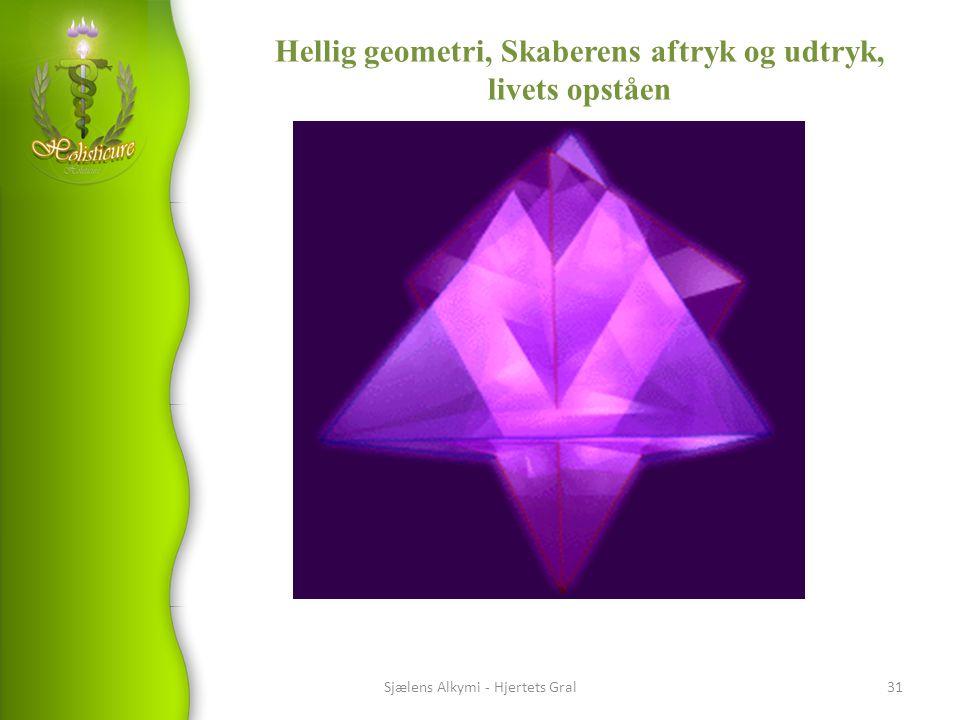Hellig geometri, Skaberens aftryk og udtryk, livets opståen