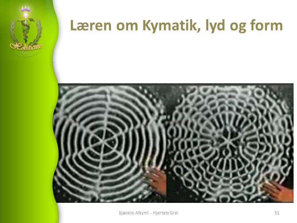 Læren om Kymatik, lyd og form