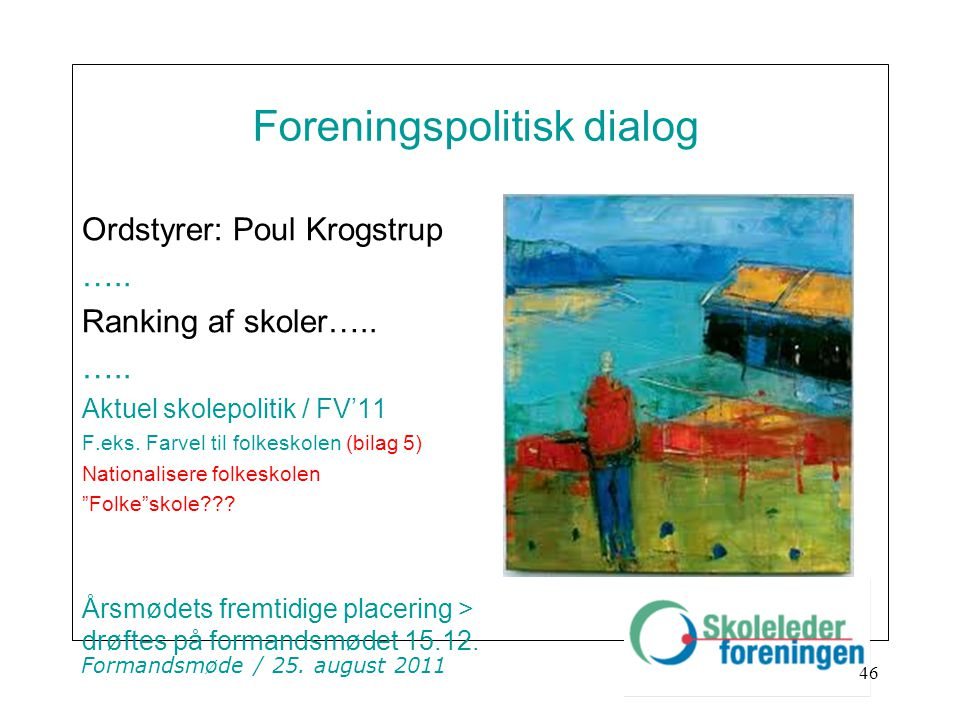 Foreningspolitisk dialog