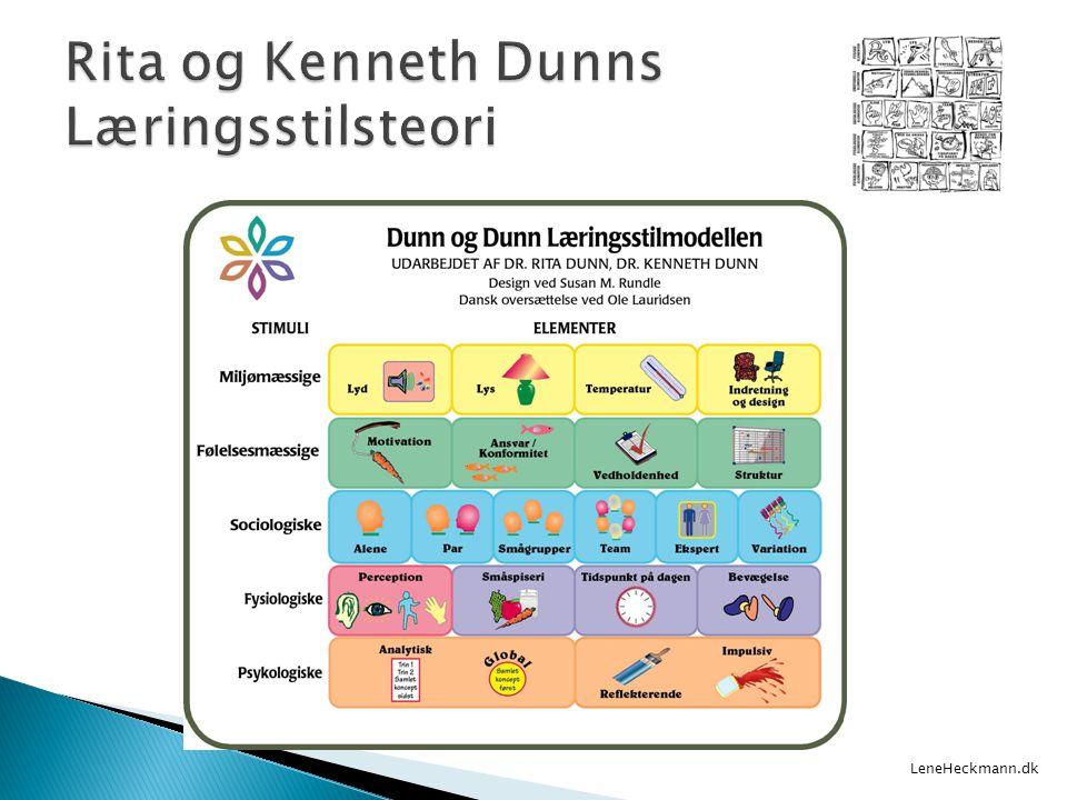 Rita og Kenneth Dunns Læringsstilsteori