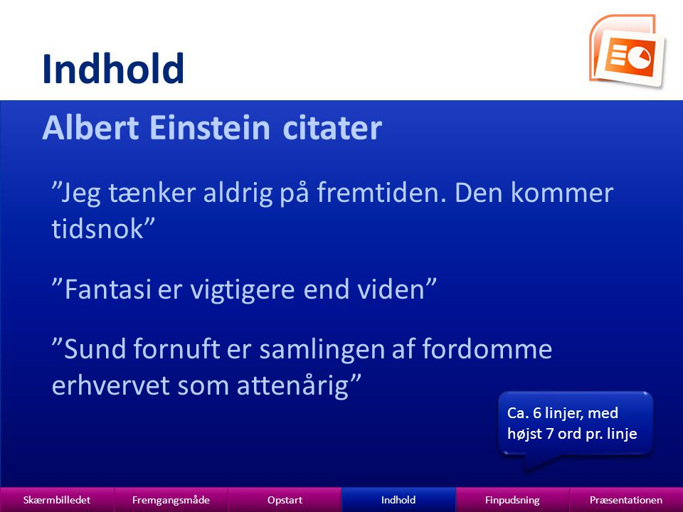 Indhold Albert Einstein citater