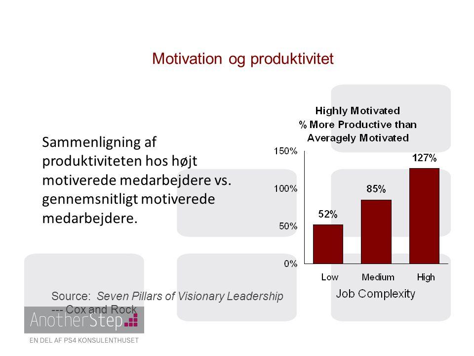 Motivation og produktivitet