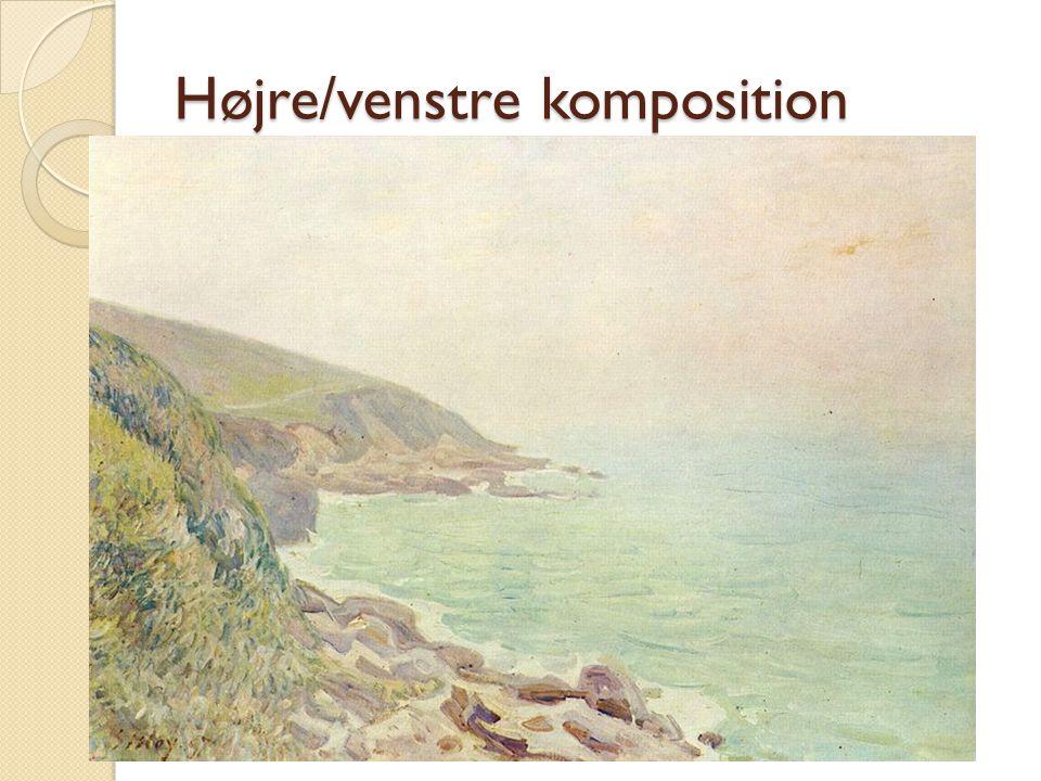 Højre/venstre komposition