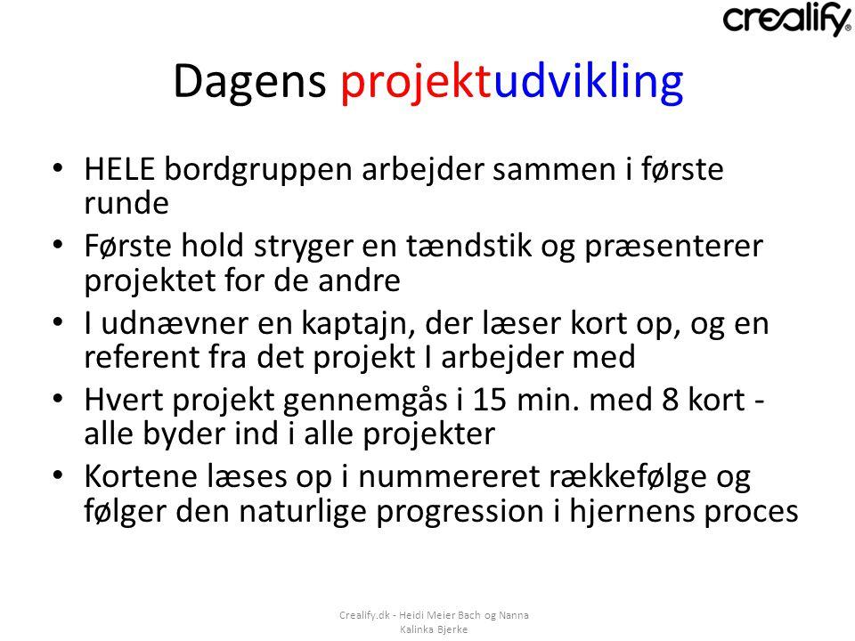 Dagens projektudvikling