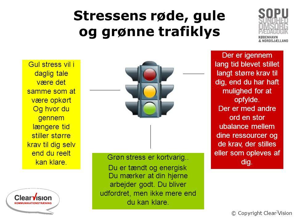 Stressens røde, gule og grønne trafiklys
