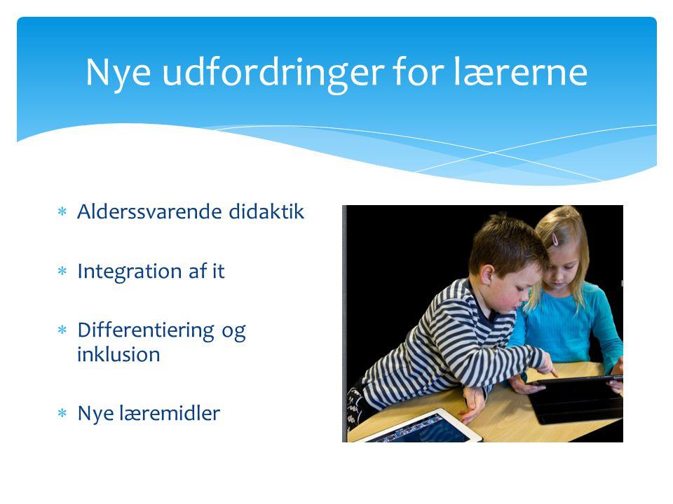 Nye udfordringer for lærerne