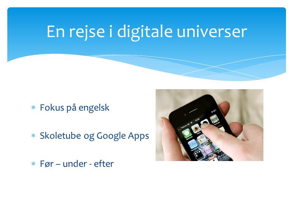 En rejse i digitale universer