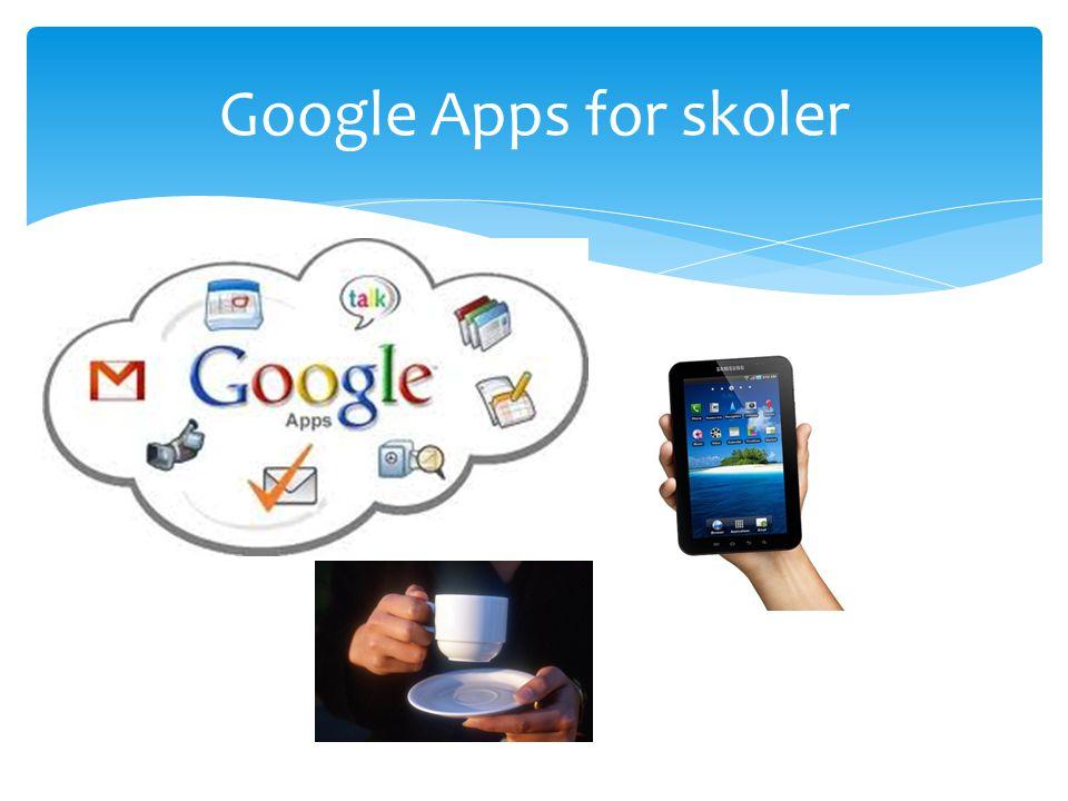 Google Apps for skoler